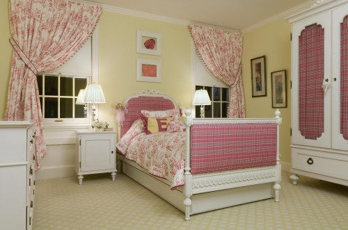 Nice Girls Bedroom Floor Idea With Patterned Carpet Nice Ideas