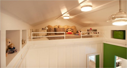 loft reading area for kids room ideas