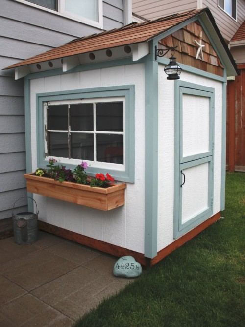 Playhouse Window Planter For Kids Accessories