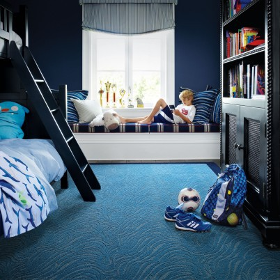 boys bedroom floor ideas using carpet tile
