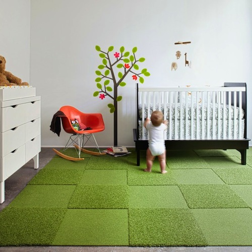 Carpet tile popular kid 39 s rooms for Playroom floor ideas