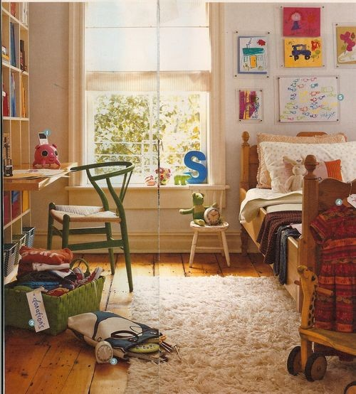 Kids Bedroom Floor Ideas With Wide Plank Floor