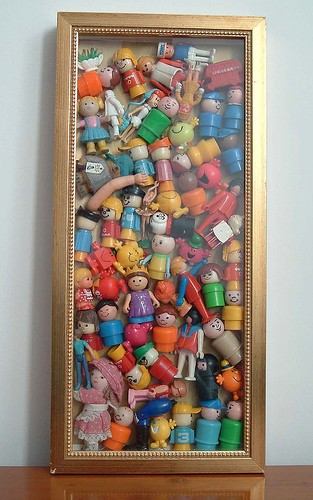 What Do You Use To Store Toys In : Heirloom accessories using vintage toys in kids rooms