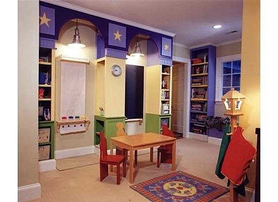 safe lighting for kids playroom