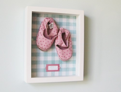 heirloom clothing display ideas for baby nursery