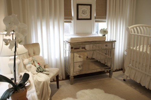 baby nursery ideas for vintage nursery design