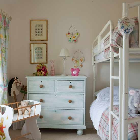 how to safely use vintage furniture in girls rooms
