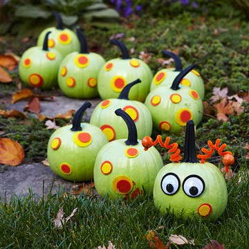 No carve painted halloween pumpkin ideas - Cute pumpkin painting ideas ...