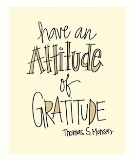 thomas s monson gratitude quote