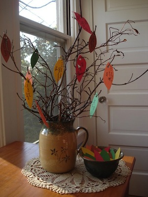 how to make gratitude tree for kids