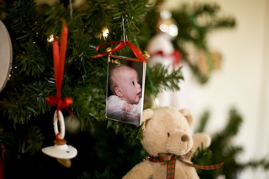 Baby Themed Christmas Tree