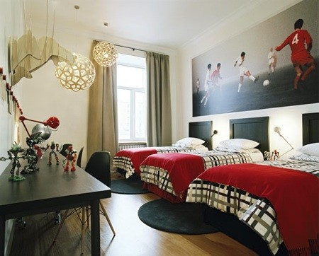 bedroom ideas for shared room with three boys