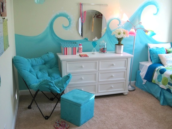 Model Home Tour Girl 39 S Beach Theme Bedroom