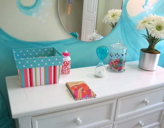 girls beach theme bedroom