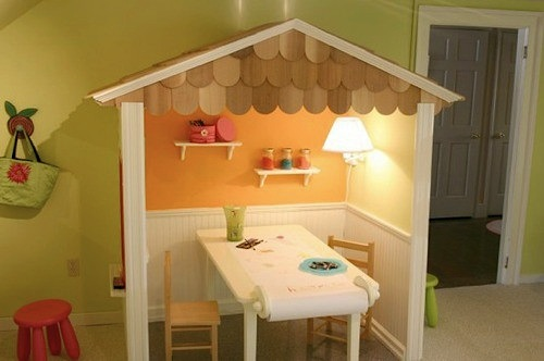 design room for kids with lighting for indoor playhouse activity table alcove lighting ideas