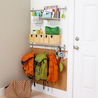 design for kids small space mudroom