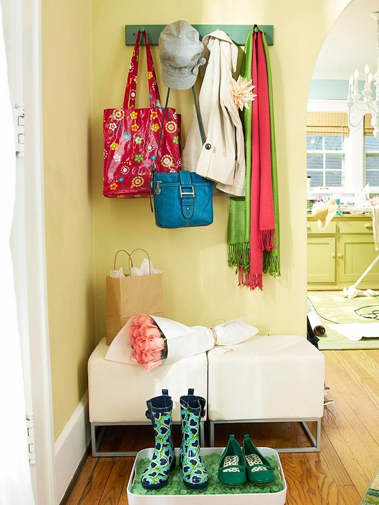 design for kids room of small space mudroom seating and storage