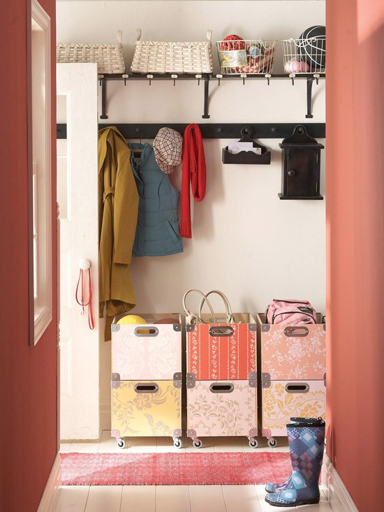 design for kids room storage in small space entryway mudroom