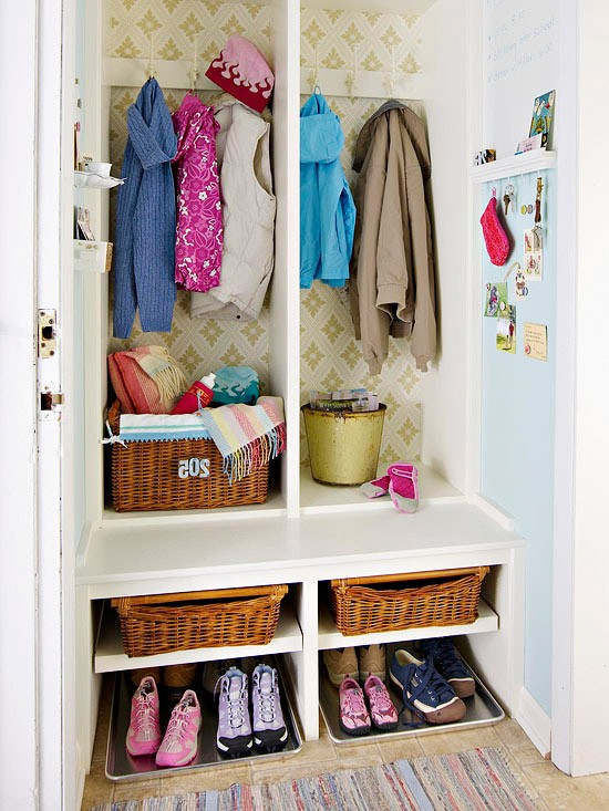 design for kids room small space mudroom with built in seat and storage