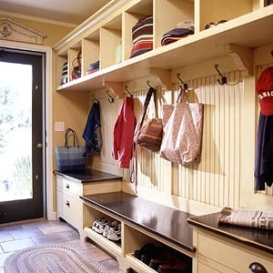 Design Room For Kids Mudroom With Beadboard Wall