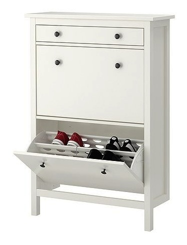 cabinet with shoe storage compartment for kids room design