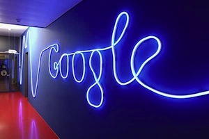 creative sign in google zurich office design
