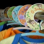 Baby Clothes Closet Dividers {and Artwork} Giveaway