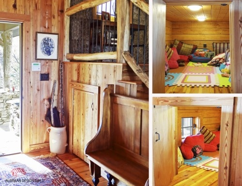 Using Small Spaces For Creative Hideaways