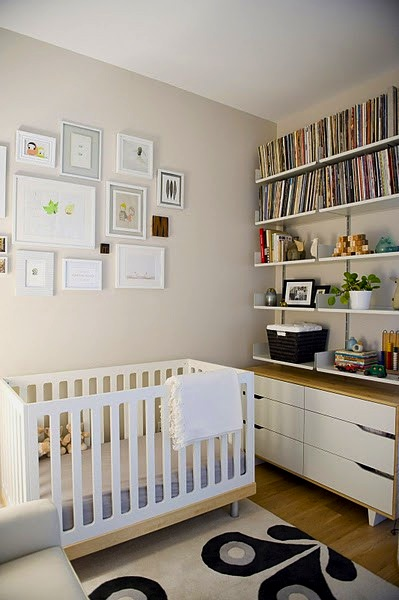 baby nursery ideas for using contemporary crib
