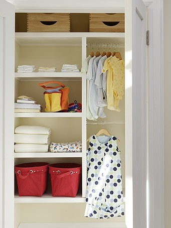 baby nursery ideas to organize nursery closet