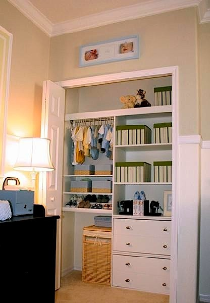 Baby Room Ideas For Nursery Closet Organization