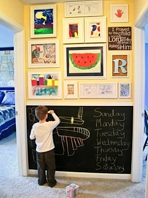 Ideas to Inspire Budding Chalkboard Artists