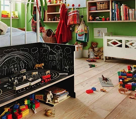 kids room ideas for chalk board paint on furniture