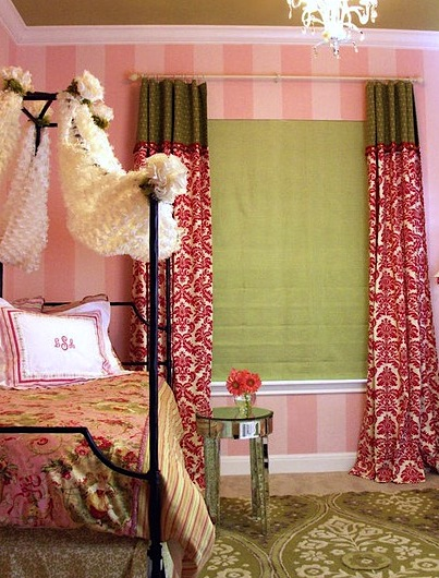 bedroom ideas for girls includes mirrored table for nightstand