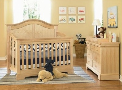 young america greenguard certified crib for baby nursery furniture