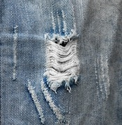 recycle ideas for kids blue jeans with holes