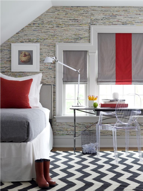teen boy room ideas for window treatment