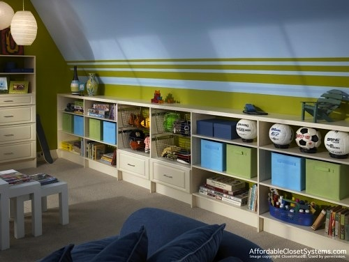 Family Room Idea For Low Storage With Kids And Toddlers