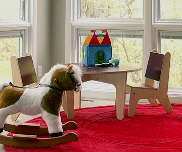 family room furniture ideas with table and chair for toddlers
