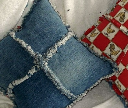 recycle kids blue jeans ideas for kids room pillows