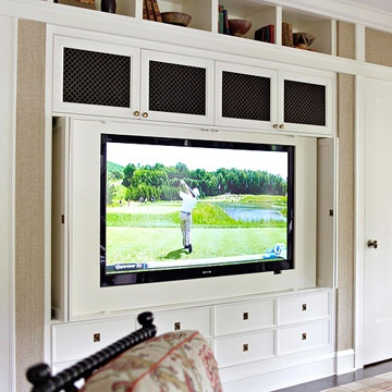 Top family room storage ideas for Family room built in cabinet ideas