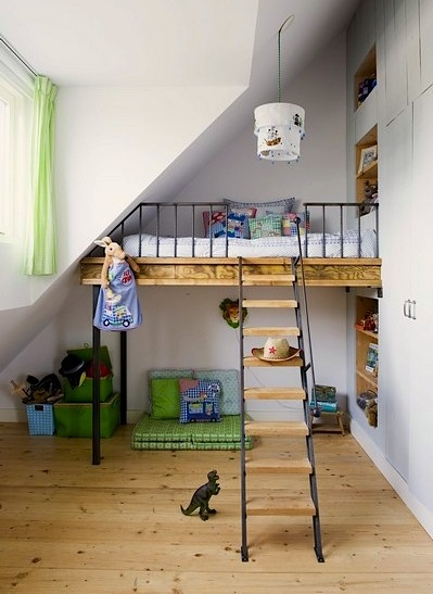 Unique Toddler Beds : Unique kids beds on stilts
