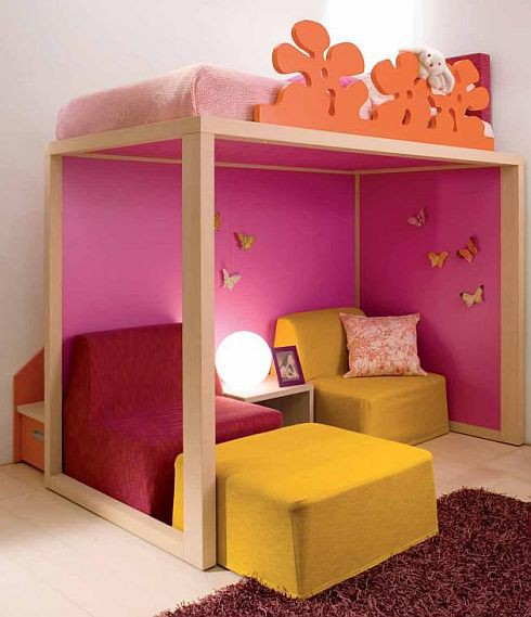 Unique Kids Room: Unique Kids' Beds On Stilts