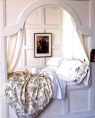 Alcove Bed For Teenage Girl Room Idea