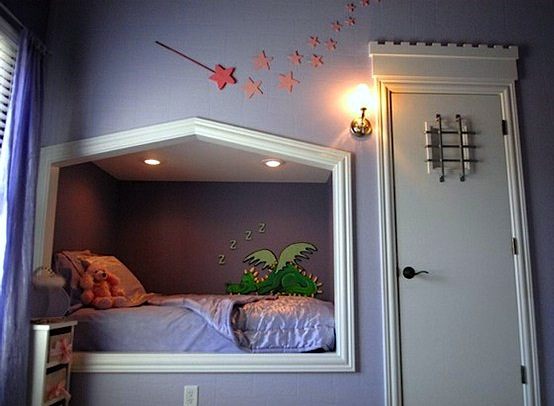 Alcove beds create cozy kids 39 bedrooms for Dragon bedroom ideas