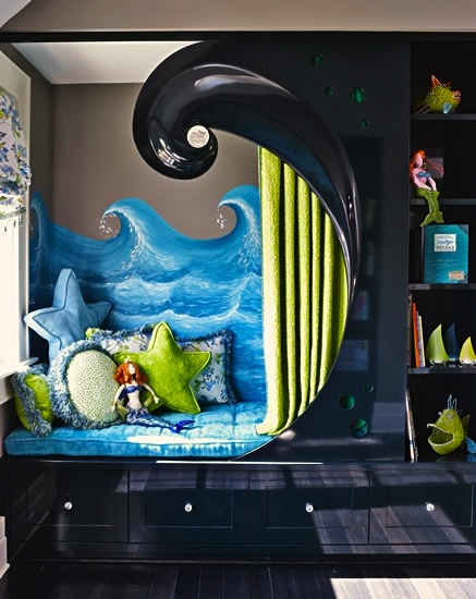 Alcove Beds Create Cozy Kids Bedrooms