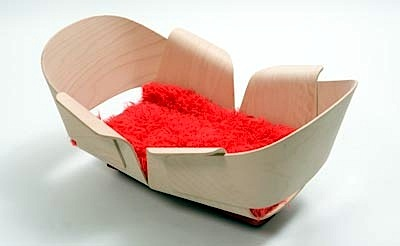 seat art design competition entry the wiege cradle by felix keller