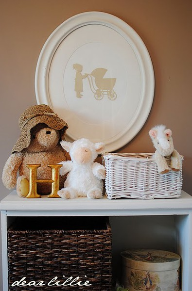 frugal design ideas for baby nursery from dear lillie