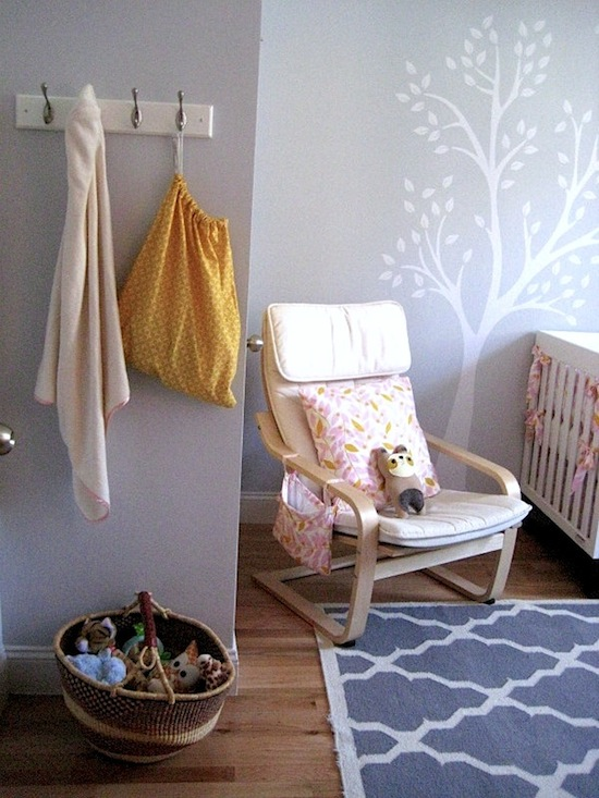 baby nursery with frugal design ideas