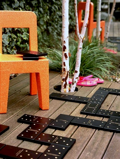 Exceptional Outdoor Games For Family Night With Giant Domino Game